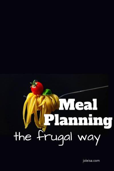 Meal Planning – Keeping it Frugal