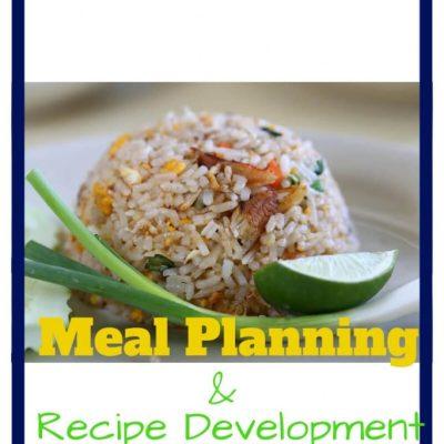 Meal Planning – Recipe Development