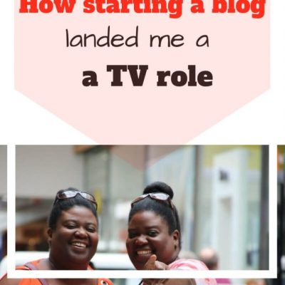 How my Blog Got Me a TV Role!