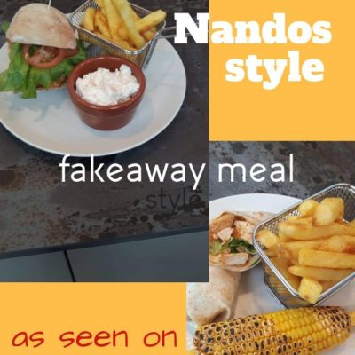 Joleisa's Cheeky Nandos Style Meal Made at Home (As Seen on Shop Smart, Save Money)