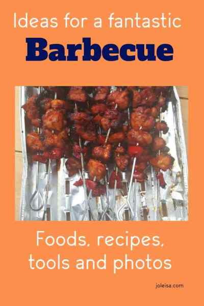 Sizzling Summer Barbecue Ideas From Joleisa on Shop Smart Save Money