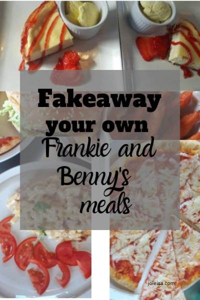 Fakeaway Your own Frankie and Benny's Meal as Seen on Shop Smart Save Money