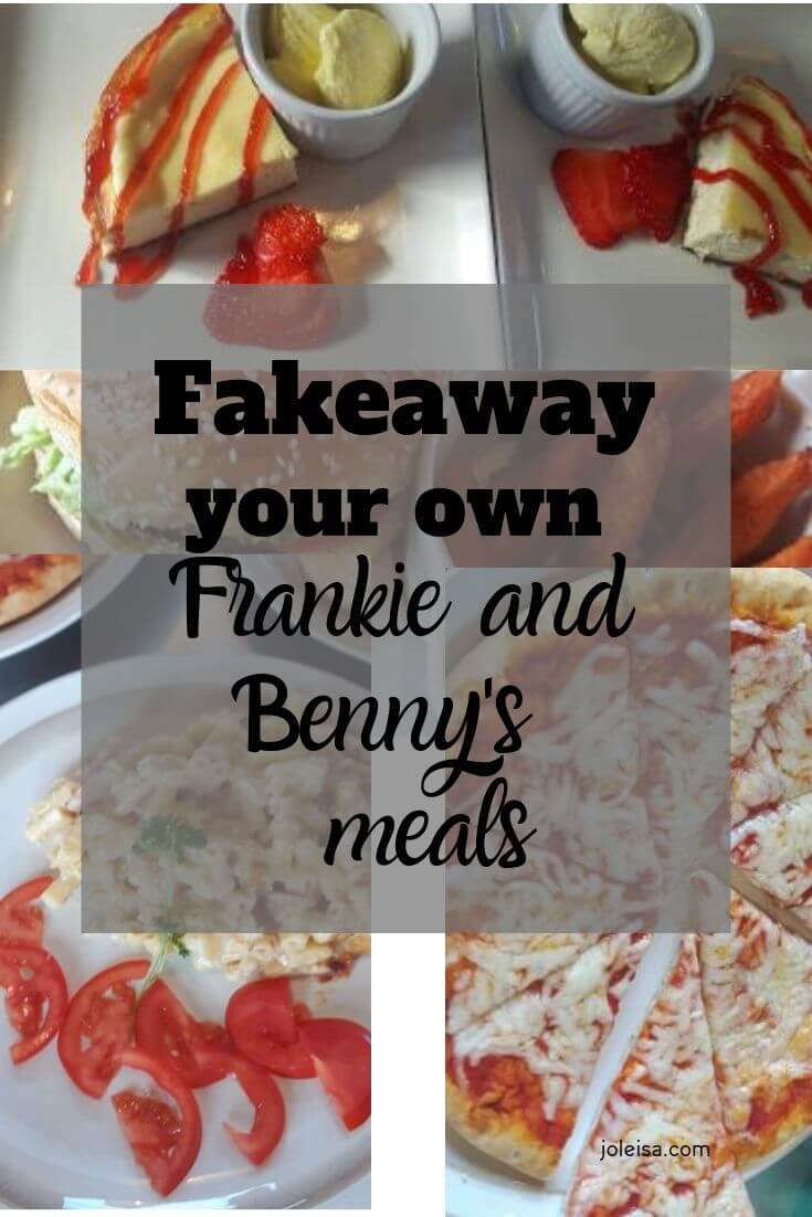 How to make your fakeaway Frankie and Benny's meals