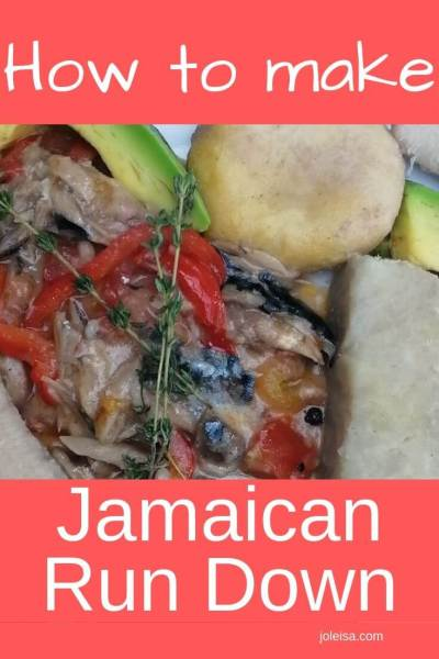 How to Make Jamaican Run Down With Ready-Made Sauce