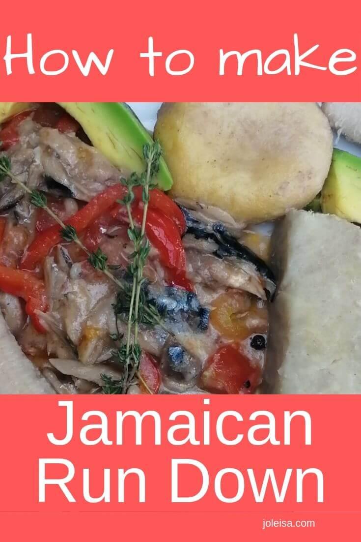 cook Jamaican run down