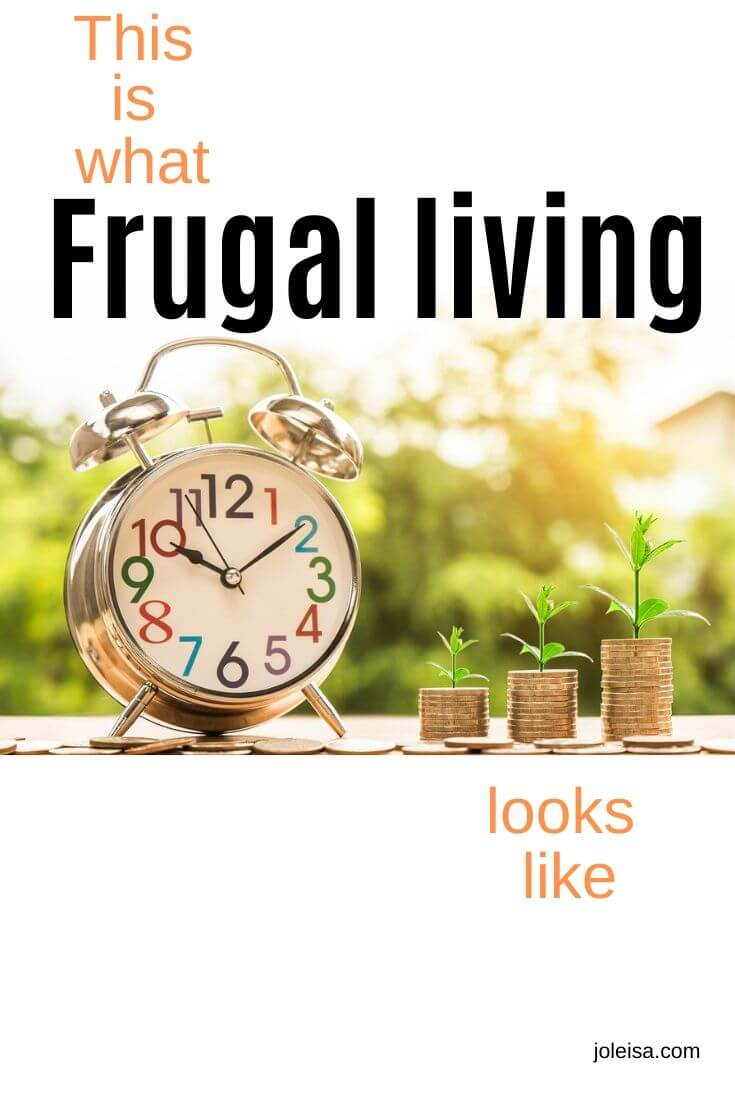 what frugal living looks like