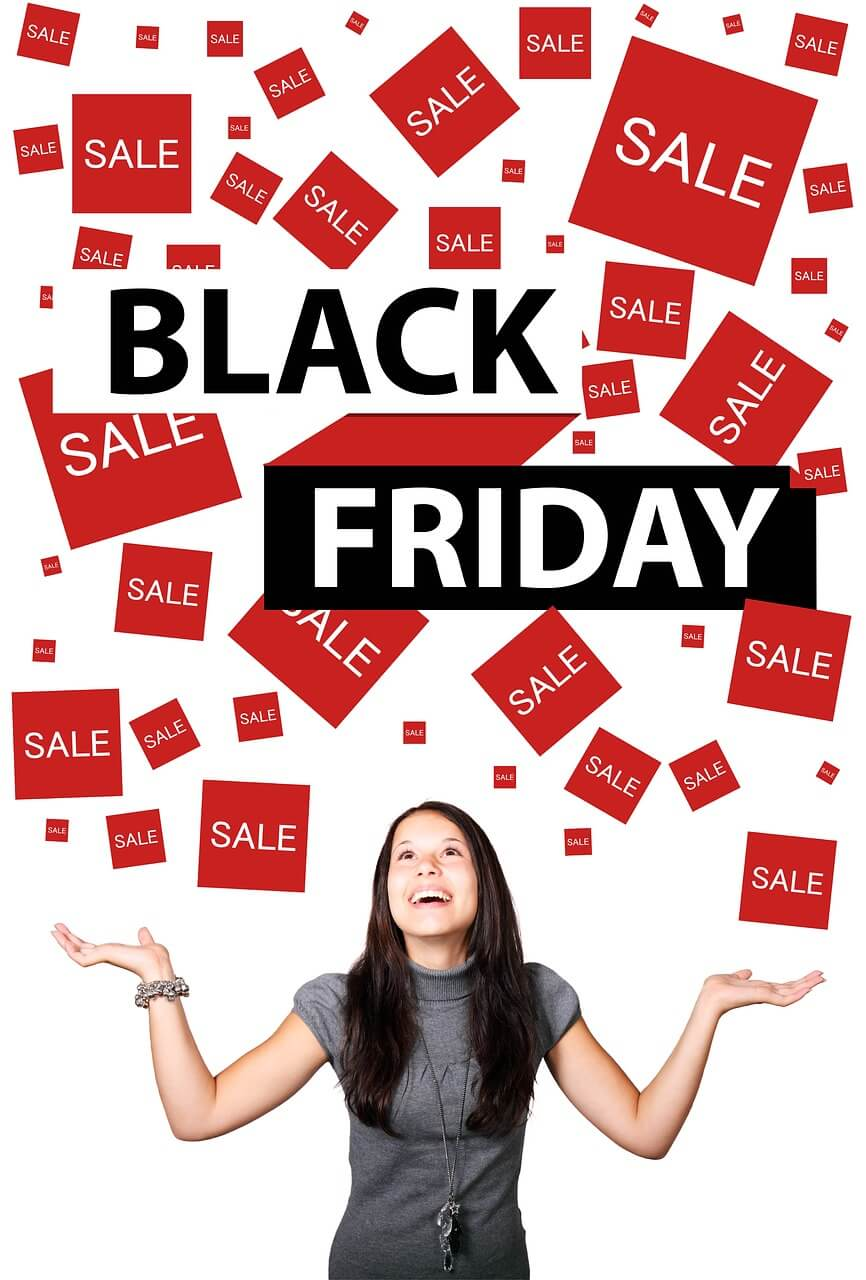 Black Friday shopping sale