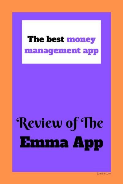 Emma App Review- The Best Money Management App