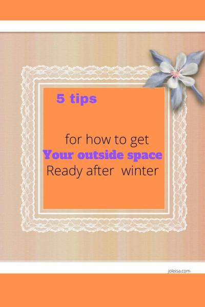 Getting Your Outside Space Ready After the Winter