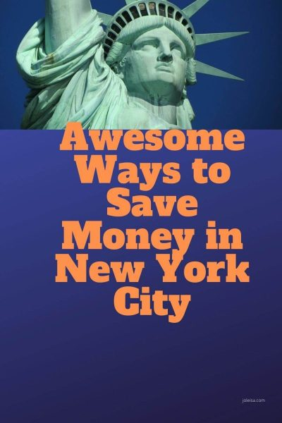 Awesome Ways to Save in New York City