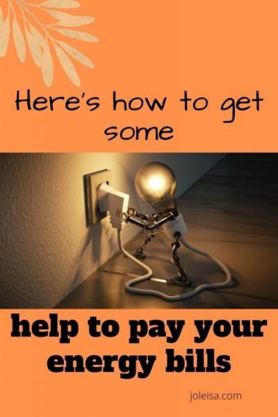Here's how to get Help to pay Your Energy Bills