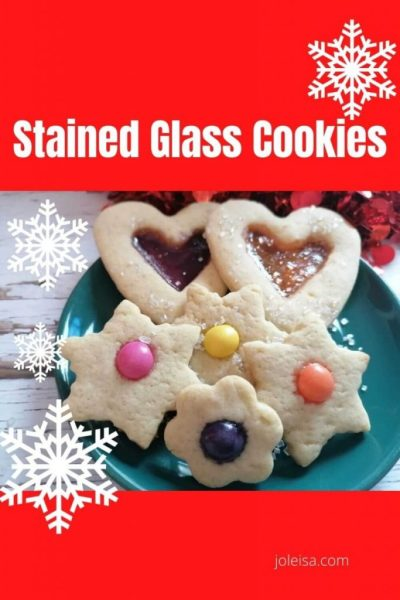 Delicious Stained Glass Cookies and Freebie Alert