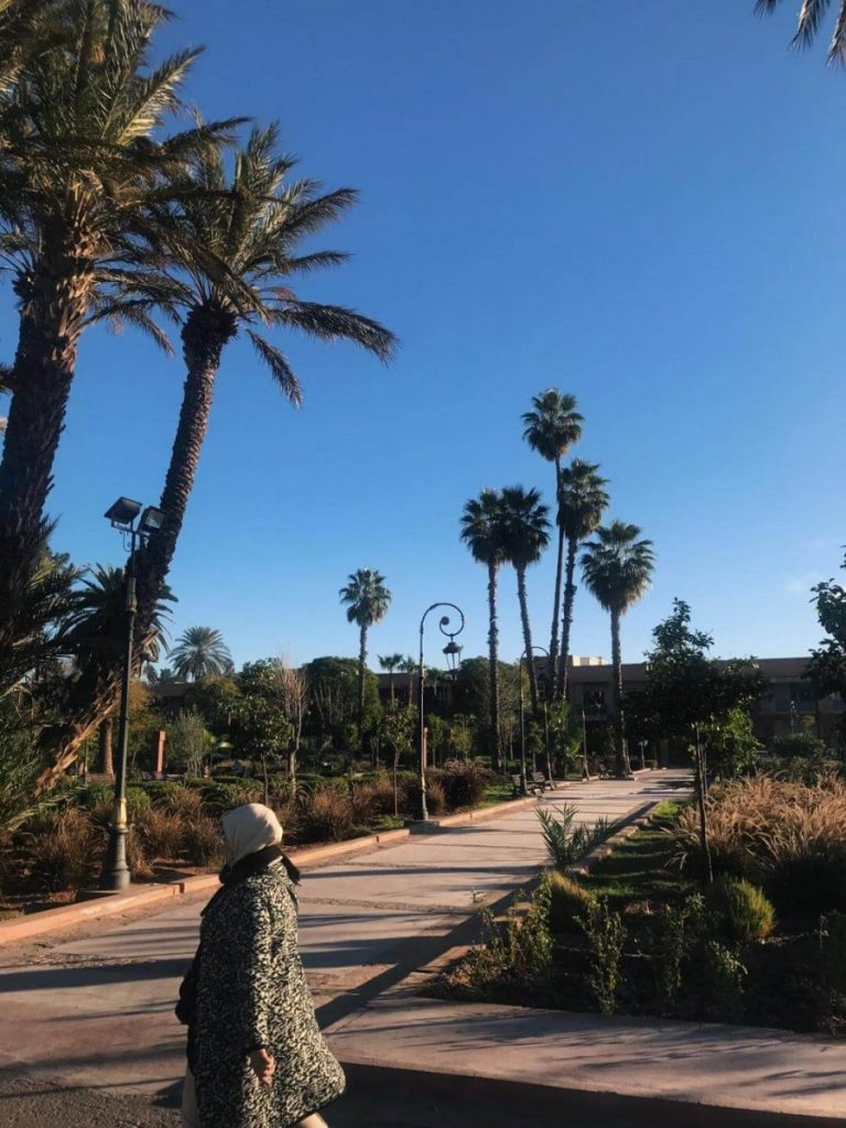 Landscape in Morocco