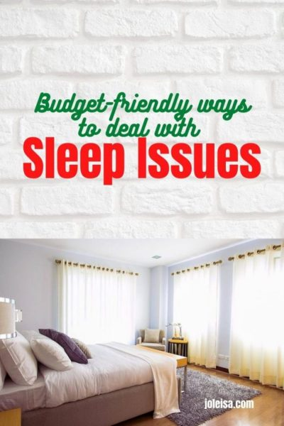 Budget Friendly Tips For Dealing With Sleep Issues