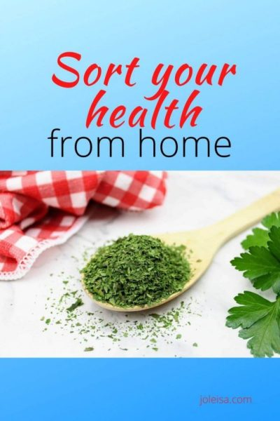 Sort Your Health out From Home