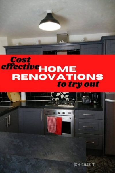 Cost Effective Home Renovations to try out