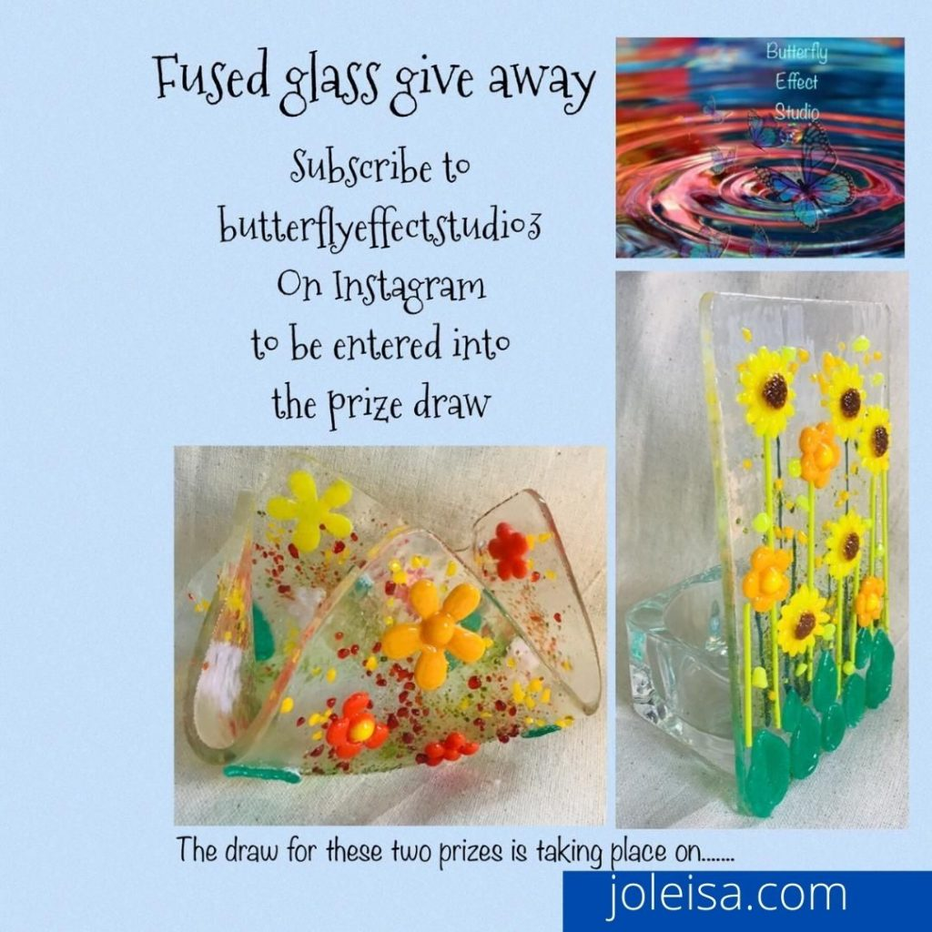 fued glass tealight holders