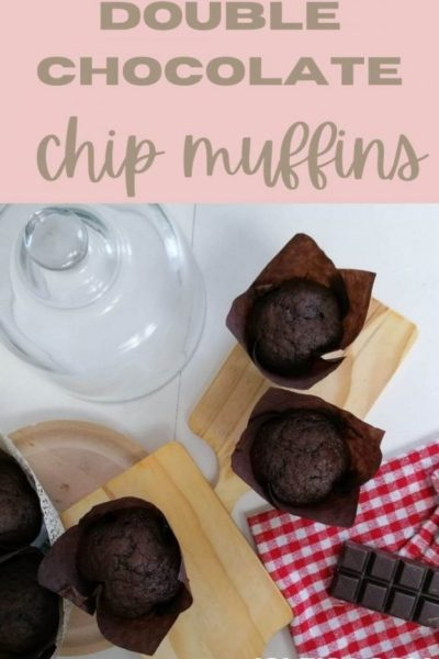 Double Chocolate Chip Muffins