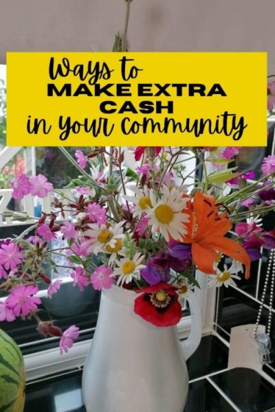 Ways to Make Extra Cash in Your Local Community