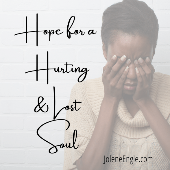 lost hurting unsaved