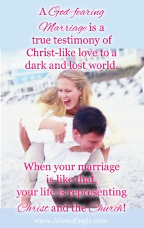 A God fearing marriage