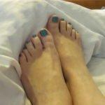 J's (anonymous) feet