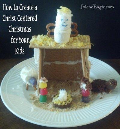 Large Edible Nativity by Jolene Engle