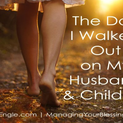 The Day I Walked Out on My Husband and Children
