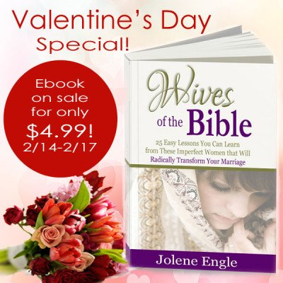Wives of the Bible ebook on sale!