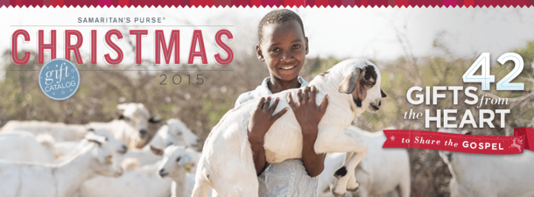 Samaritan's Purse Gift Catalog