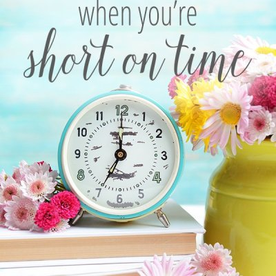 Redeeming the Time when You're Short on Time