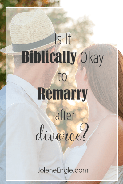 Is It Biblically Okay to Remarry After Divorce?