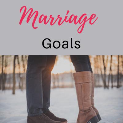 Christ-centered Marriage Goals