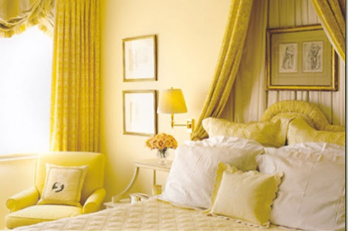 Yellow Bedroom Jolene Smith Interiors