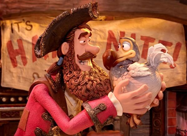 Le making off du film : Les Pirates! Bons à rien, mauvais en tout