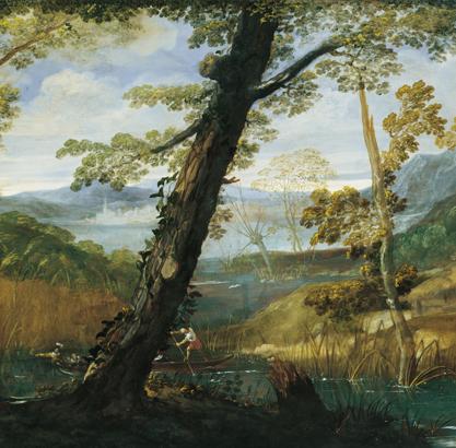 Nature et idéal : le paysage à Rome, 1600-1650