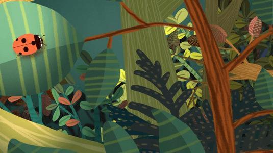 Faire le déplacement de l'illustration à l'animation