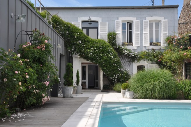 Le beau mariage du design et du charme de l'ancien à la Villa Saint-Jean, à Granville ©Joli.Voyage