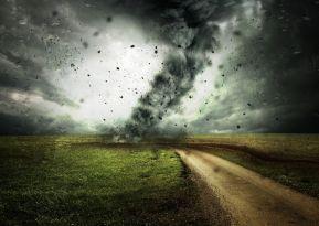 un ouragant qui balaye tout sur son passage
