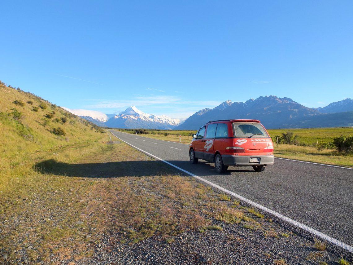 road trip nouvelle zelande ile du sud