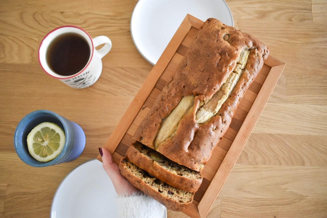 banana bread vegan maison