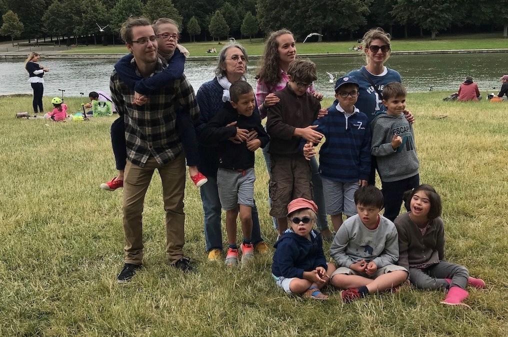 Photo de l'équipe de l'école Aime la Vie
