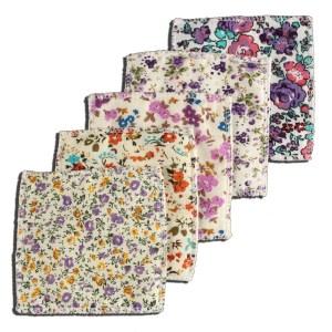 Lingettes coton polaire Jolikrea tons violets