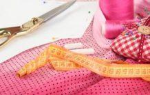 accessoires de couture et tissu
