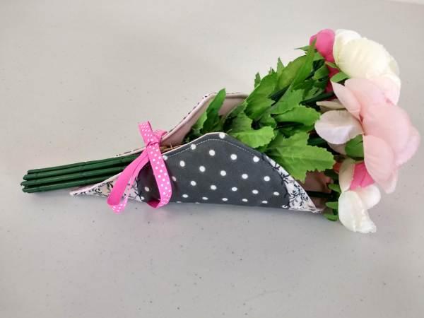 porte bouquet gris vue principale