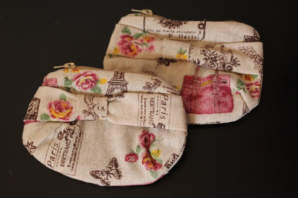 trousse petite taille rose