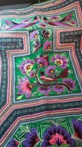 podeagi Hmong restauré par JoliKrea
