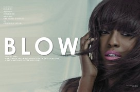 Blow editoria for Bold Africa magazine, featuring statement earrings by Jolita Jewellery