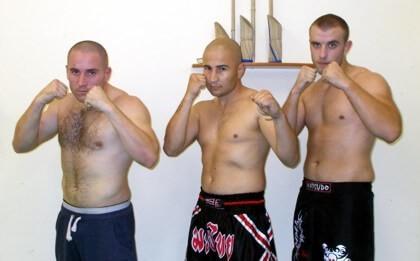 A thai box pécsi teamjének magja