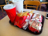 I've had a Wendys every time I've been Niagara
